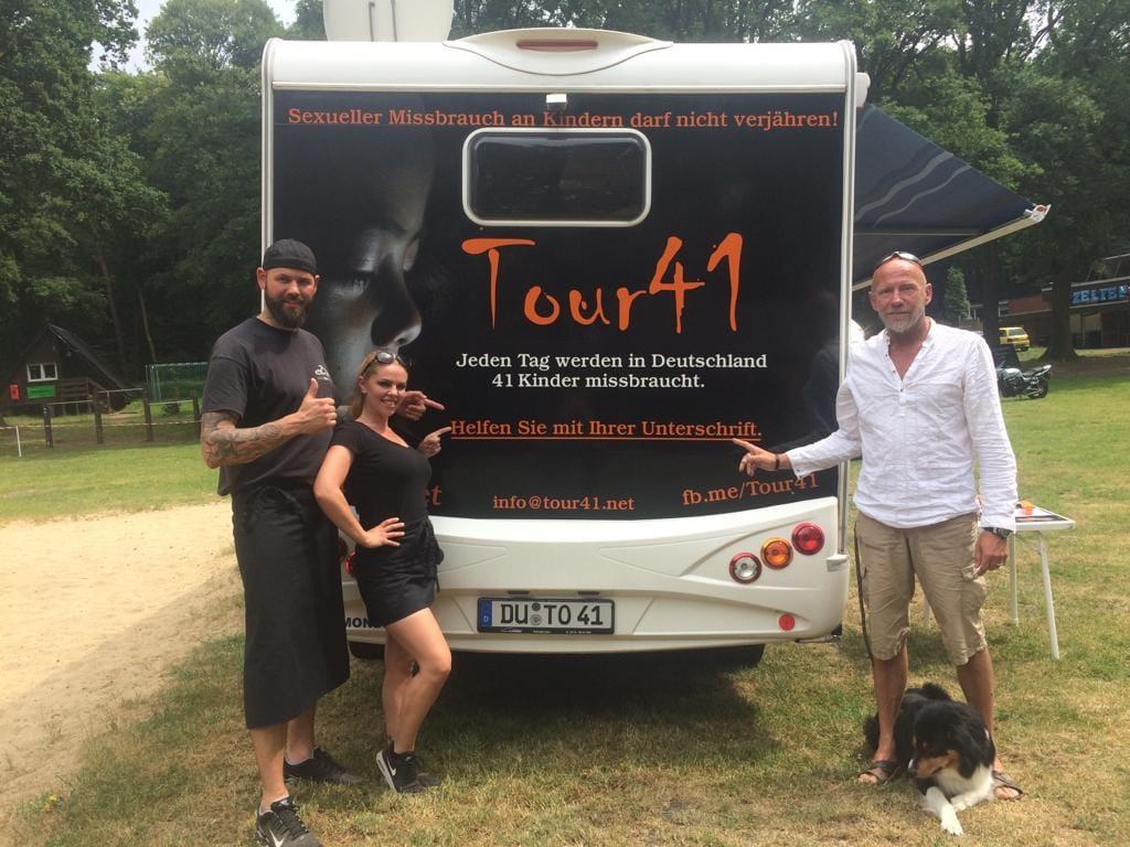 Tour41 zu Gast beim offenen Benefiz Motorrad-/Kawasakitreffen in Oer-Erkenschwick