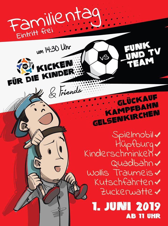 """Tour41 zu Gast in Gelsenkirchen am Familientag """"SG Kicken für die Kinder"""""""