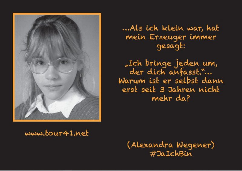#JaIchBin Alexandra Wegener