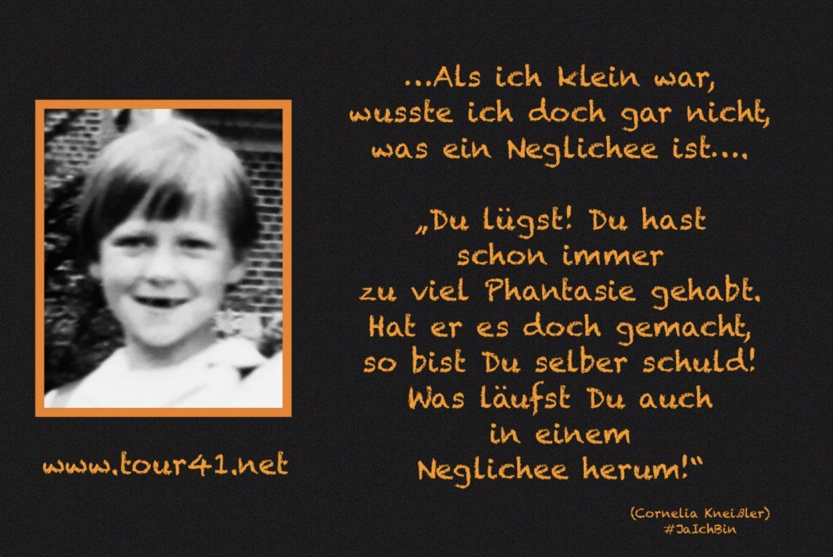 #JaIchBin – Weil wir so viele sind – Cornelia Kneißler