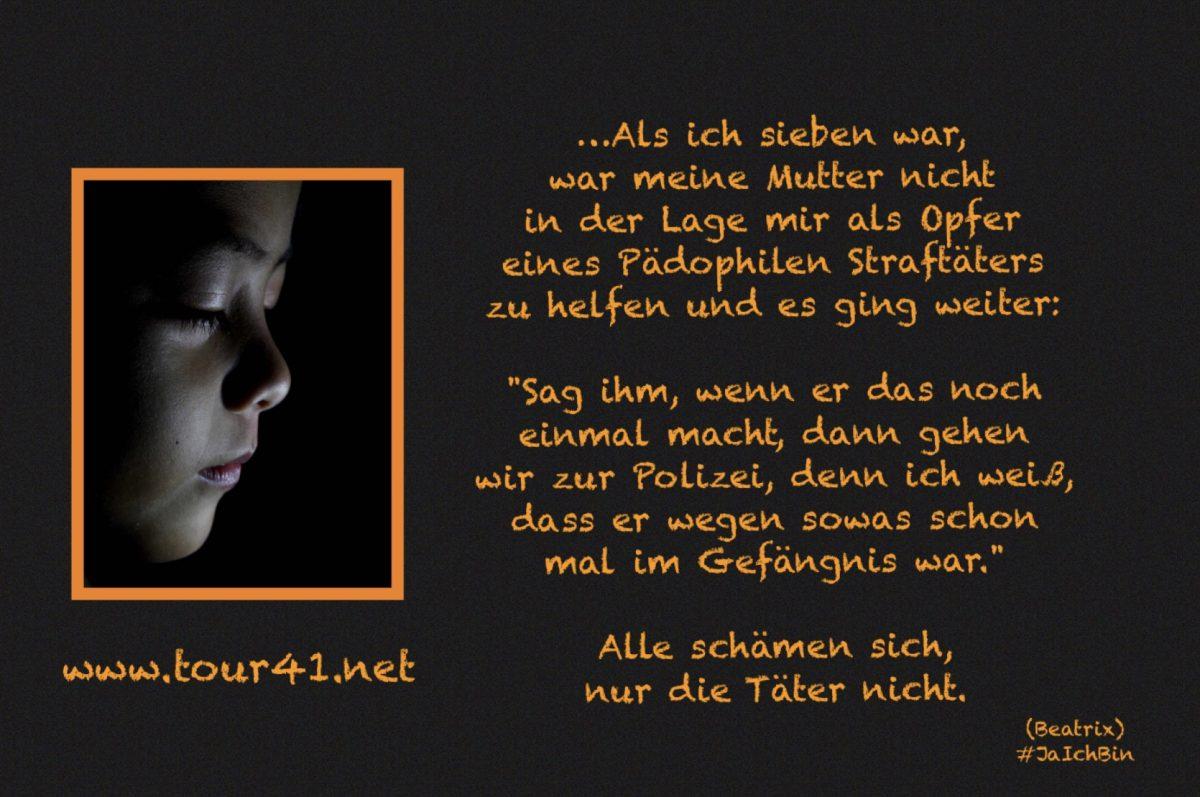 #JaIchBin – Weil wir so viele sind – Beatrix