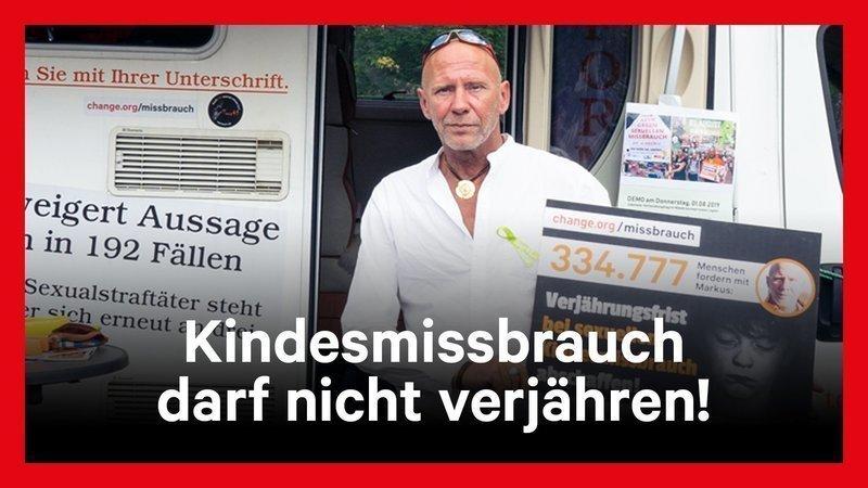 Video: Kindesmissbrauch darf nicht verjähren! #Lügde #KeineTatOhneKonsequenz