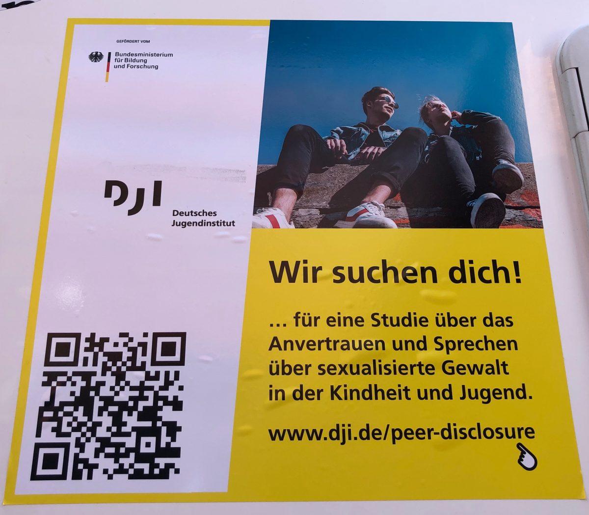 Studie des DJI – Wir suchen Dich!