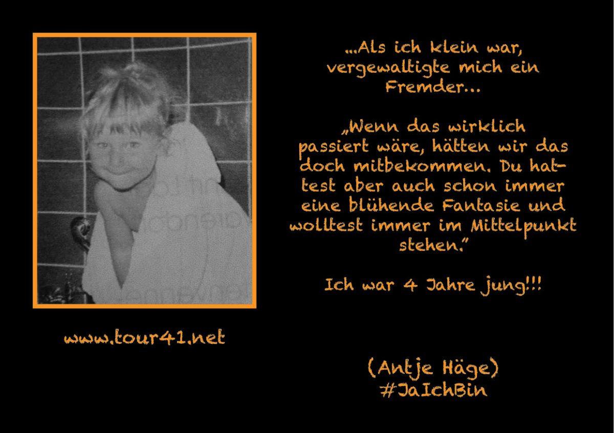 #JaIchBin – Weil wir so viele sind – Antje Häge