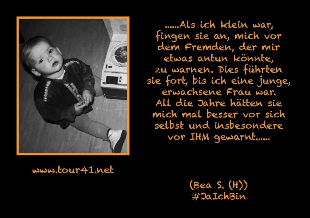 #JaIchBin – Weil wir so viele sind – Bea S. (H.)