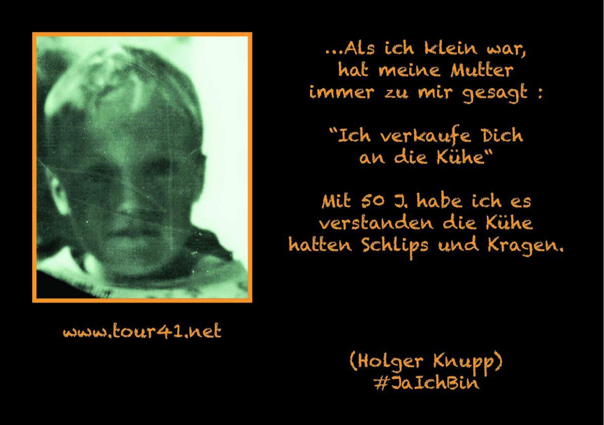 #JaIchBin – Weil wir so viele sind – Holger Knupp