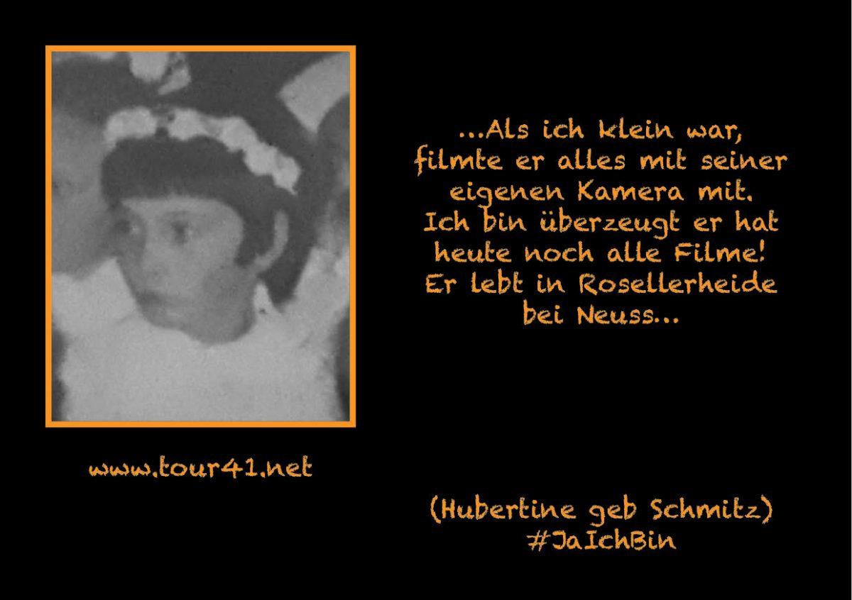 #JaIchBin – Weil wir so viele sind – Hubertine geb. Schmitz