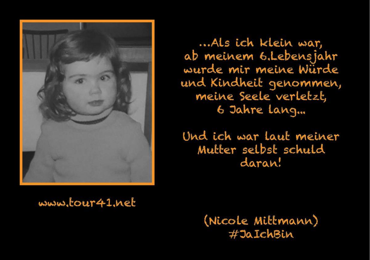 #JaIchBin – Weil wir so viele sind – Nicole Mittmann