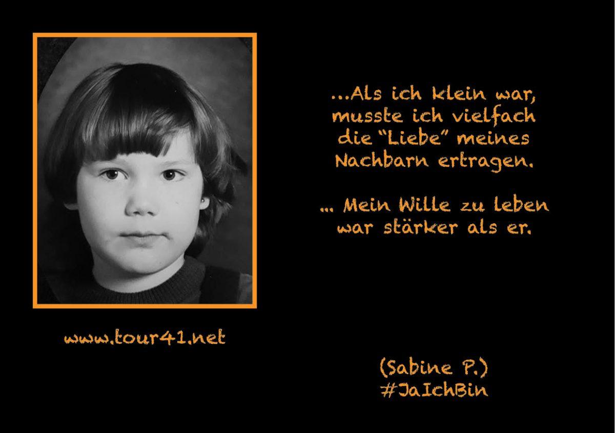 #JaIchBin – Weil wir so viele sind – Sabine P.