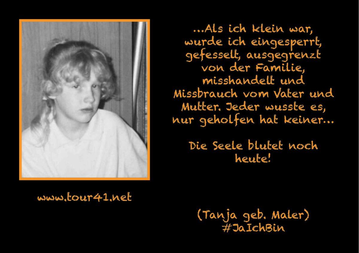 #JaIchBin – Weil wir so viele sind – Tanja geb. Maler